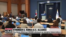 S. Korea will work to upgrade U.S. alliance even after GSOMIA