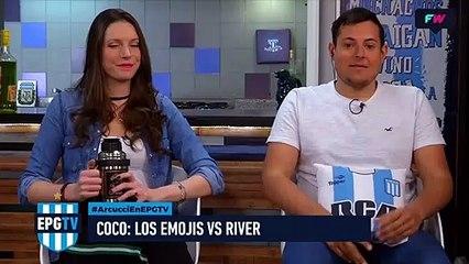 Los emojis vs. River