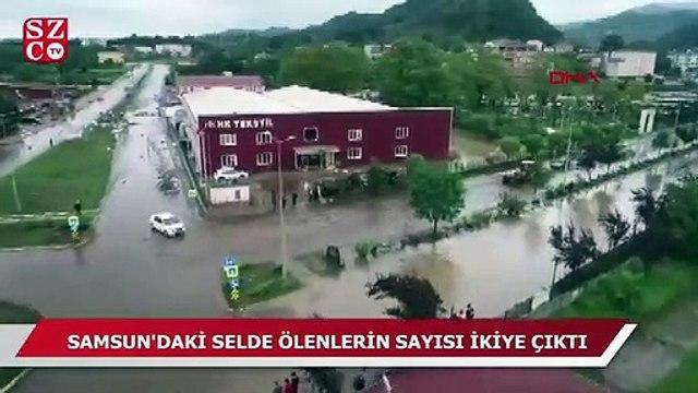 Samsun'da selde ölenlerin sayısı ikiye yükseldi
