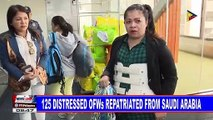 125 distressed OFWs repatriated from Saudi Arabia