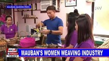 Mauban's women weaving industry