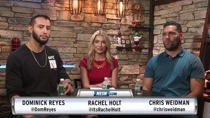 Chris Weidman, Dominick Reyes Preview UFC Boston Fight