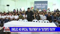 "COMELEC: No special treatment on ""Duterte Youth"""