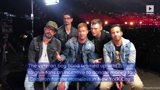 Backstreet Boys Launch Campaign to Fight Homelessness in NYC