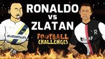LOLs | Zlatan Ibrahimovic vs. Cristiano Ronaldo: Battle Royale