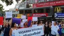 Emine Bulut için eylem: Kadın cinayetleri politiktir