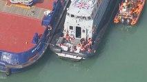 Des embarcations interceptées dans la Manche