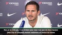 """Premier League : 3e j. - Lampard : """"La Premier League, pas une course à deux chevaux"""""""