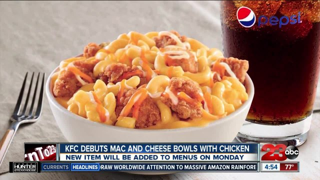 KFC debuts mac and cheese bowls with chicken