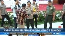 Warga Papua Bertemu Kapolda dan Pangdam Jaya