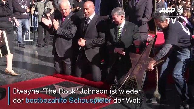 """The Rock"""" ist Topverdiener in Hollywood"""