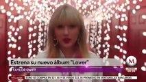 Taylor Swift estrena su nuevo álbum 'Lover'