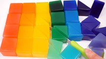 How to Make Colors Rainbow Lego Jelly Pudding DIY Cube Gummy Jelly