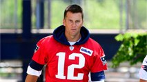 Tom Brady Getting Roasted For Big Hat After Patriots Preseason Game