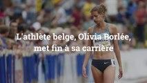 L'athlète belge, Olivia Borlée, met fin à sa carrière