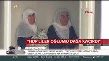 """""""HDP katliam yeridir, zalimlerin mekanıdır"""""""