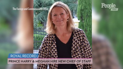 Meghan Markle and Prince Harry Hire 'Supermum' Fiona Mcilwham as New Chief of Staff