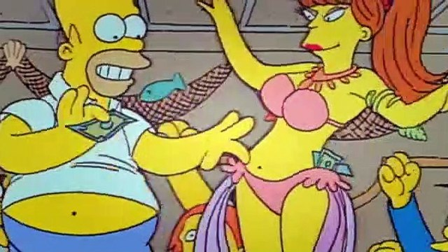 The Simpsons Season 1 Episode 10 - Homers Night Out