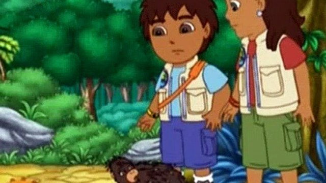 Go Diego Go Season 3 Episode 6 Diego and Porcupine Save the Pinata