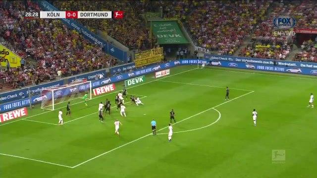 Köln vs Borussia Dortmund 1  -  3 Highlights Összefoglaló Resumes Goles 23 08 2019 HD