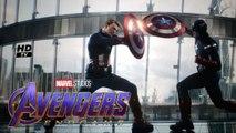 Captain America vs Captain America fight scene in Avengers Endgame