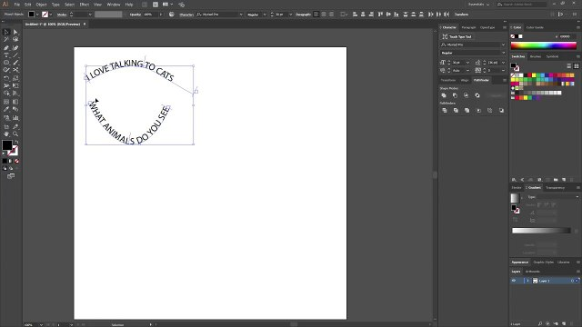 Adding text in the shape of a circle (Adobe Illustrator)_1 -+++===