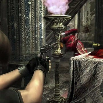 Resident Evil 4 - 3-2 Castle: Kill Red Cultist Plagas For Illuminados Pendant Gameplay Xbox (2019)