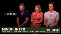 Mindhunter Season 2- Jonathan Groff, Anna Torv & Holt McCallany Interview