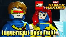 Juggernaut Boss Fight — LEGO Marvel Super Heroes 1