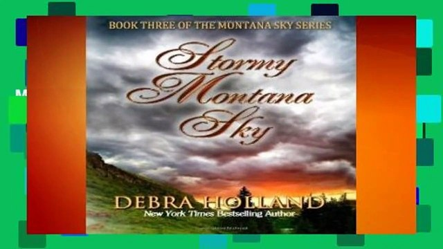 Full E-book  Stormy Montana Sky  Best Sellers Rank : #4