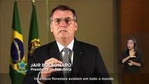"""Bolsonaro: """"incendios forestales no pueden ser pretexto a sanciones internacionales"""""""