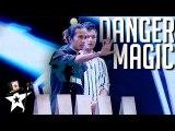 Host Nearlly Loses Hand on Myanmar's Got Talent 2019 - Magicians Got Talent