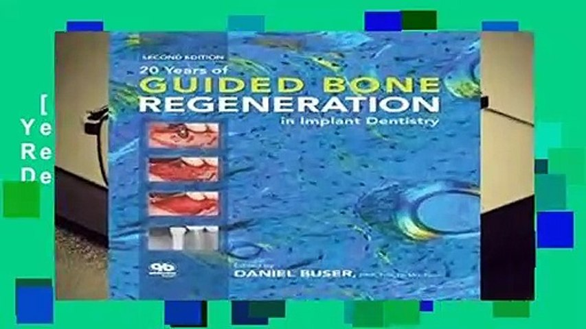 [NEW RELEASES]  20 Years of Guided Bone Regeneration in Implant Dentistry