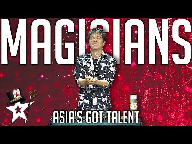 Best Magicians on Asia's Got Talent 2019 - Magicians Got Talent