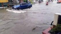Flooding in Laoag City, Ilocos Norte
