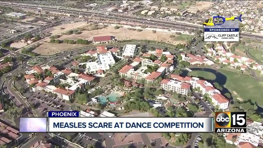 County officials warn of possible measles exposure at Arizona Grand Resort