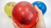 How To Make Colours Slime Balloon DIY Color Water Ball Pearl Slime Clay For Children