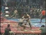 Rusher Kimura/Goro Tsurumi vs Riki Choshu/Yoshiaki Yatsu (All Japan March 16th, 1985)