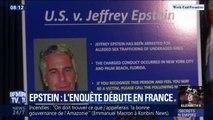 Affaire Epstein: l'enquête débute en France