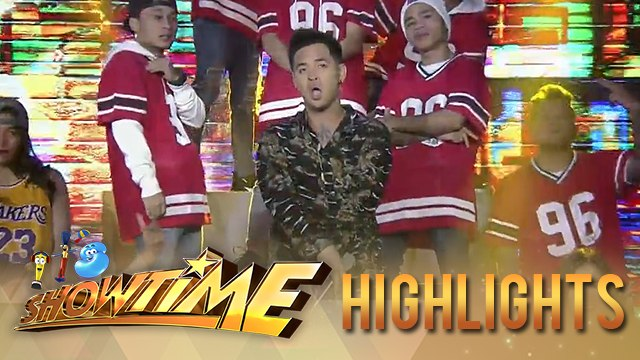 "Geo Ong performs his trending rap song ""Pekeng Kaibigan""   It's Showtime"