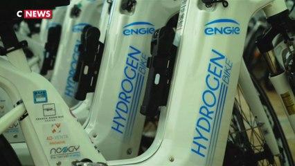 Le vélo hydrogène, l'autre star du G7