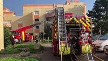 Violent feu d'appartement à Wittenheim