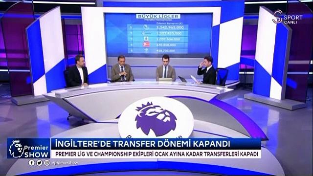 5 büyük ligin transfer harcamaları