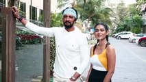 Watch Kiccha Sudeep and Aakanksha Singh Promote their Upcoming movie Pehlwaan