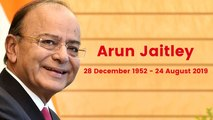 Arun Jaitley Passes Away At 66