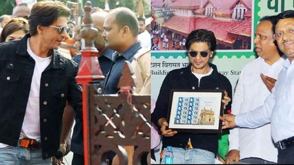Shahrukh Khan inaugurates special India Post cover; Watch Video | FilmiBeat