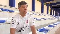 Jesús Enrique Gutiérrez, entrenador que supervisó la prueba de Neymar con el Real Madrid con 14 años.