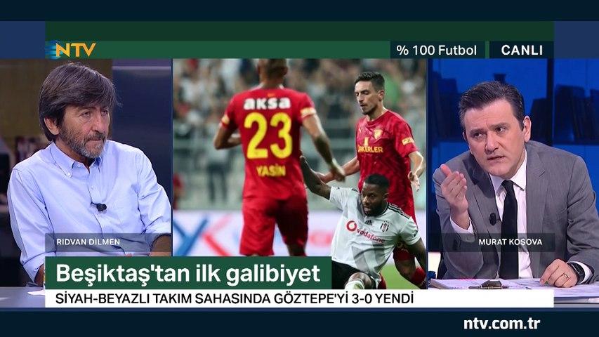 % 100 Futbol Beşiktaş - Göztepe 23 Ağustos 2019