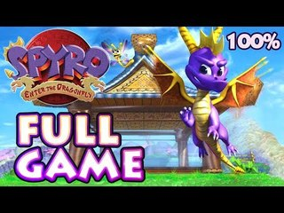 Spyro: Enter the Dragonfly 100% FULL GAME Longplay (Gamecube, PS2)