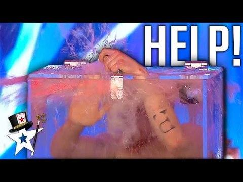 Most DANGEROUS Card Trick Ever Goes WRONG on Britain's Got Talent 2019 - Magicians Got Talent